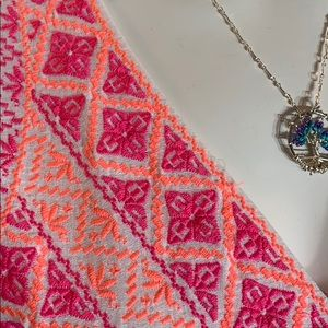 Vineyard Vines Dresses - Vineyard vines summer maxi dress pink coral white